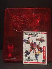 TRANSFORMERS OPTIMUS PRIME Construct Bots Build Your Own Transformer Autobot