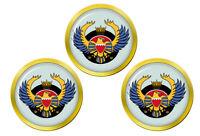 Royal Bahreïn Air Force Crest Marqueurs de Balles de Golf