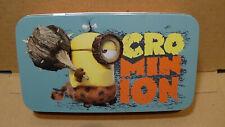 Cro-Minion Minions Collector's Tin Box Despicable Me Storage Case Universal