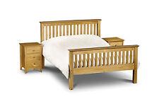 BARCELONA SOLID PINE BED FRAME KING SIZE 150CM 5FT  HIGH FOOT END