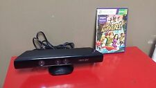 **Microsoft Kinect Sensor + Kinect Adventures for Xbox 360 - Tested Ships Free C