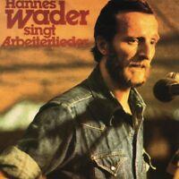 HANNES WADER 'H.WADER SINGT ARBEITERLIEDER' CD NEW+!