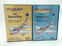 2-Muzzy BBC Interactive Language Games Multilingual Edition software 2x8 CD-ROM