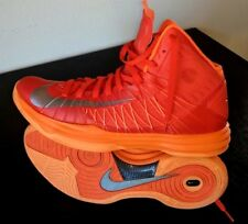 Nike Plus Hyperdunk Lunarlon 2012 Basketball Blaze Orange Men's Size 13 EUR 47.5