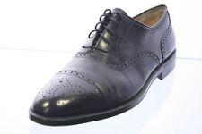 Ferragamo Business Schuhe schwarz Leder Lyralochung Salvatore Gr. 42,5 (UK 8,5)