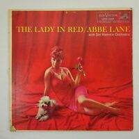 Abbe Lane Vinyl LP The Lady In Red Condition Is Used