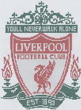 Liverpool Football Counted Cross Stitch Kit
