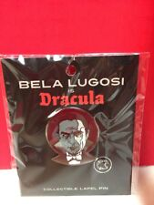 Creepy Co Bela Lugosi Dracula Collectible Lapel Metal Enamel Pin