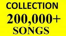 200 000 ++ MUSIC COLLECTION - 1 TB DRIVE - HIP HOP - RAP - ROCK - COUNTRY