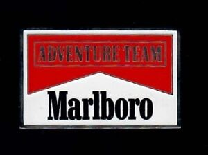 PIN - Marlboro - Zigaretten - Adventure Team - Brosche Anstecknadel Befestigung
