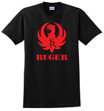 RUGER Pistols Riffle Firearms Logo Men's Black T-Shirt
