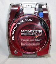 NEW Prolink Monster Performer 500 Speaker Cable 25 ft 24K Gold connector