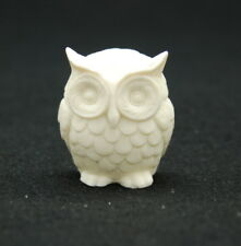 2D Small Owl, Silicone Mold Chocolate Polymer Clay Jewelry Soap Wax Resin