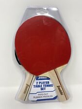 Franklin Sports 2 Player Table Tennis Ping Pong Paddles Red Black