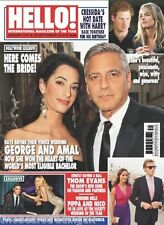HELLO! MAGAZINE No 1347: 29 September 2014 (George Clooney & Amal/Prince Harry)