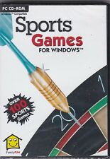 Sports Games - PC CD-ROM -95/98//ME - New + Sealed