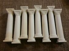 Vintage Wilton Wedding Cake Column Pillars (Lot Of 8) 5 INCH LONG