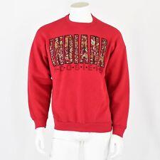 1980's Vintage Indiana Hoosiers Sweatshirt Red Artex Brand Size Xl Men's Women's