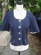 T-shirt style marin veste femme NEW FAST taille 40 comme neuf !!