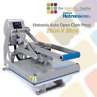 Stahls Hotronix Auto Open Clam Heat Press 28 x 38cm T Shirt Printing - STX11