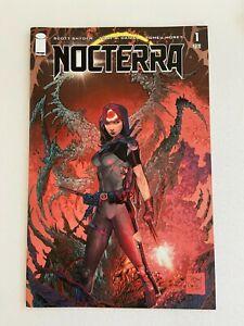 NOCTERRA #1 NM 1st Print GLOW IN THE DARK VARIANT Scott Snyder Tony Daniel