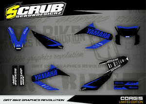 Graphics WR125X 2009 - 2021 '09-'21 Yamaha stickers SCRUB decals kit WR 125X