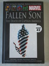Marvel Graphic Novel Collection #42 Fallen Son - Death of Captain America - Hard