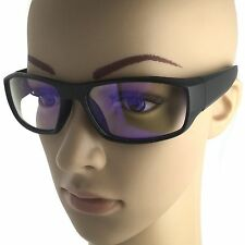 Computer Glasses Wrap Around Anti Reflective Clear Lens TV Protection Reading UV