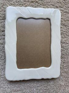 Rare Vintage Lenox Cream Ivory 5 X 7 Simple Picture Frame