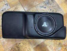 JL Audio Stealthbox SB-GM-SLVEXT12W3 1999-2007 Classic Silverado Ext Cab Black