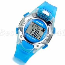 Multifunction Sports Girls Boys Child Waterproof  Electronic Digital Wrist Watch
