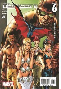 °THE ULTIMATES 2  #6 von 13  THE DEFENDERS° Marvel US 2005 Mark Millar