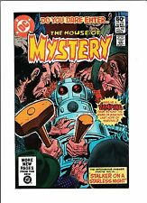 "House Of Mystery No.298  : 1981 :   : ""Stalker On A Starless Night"" :"