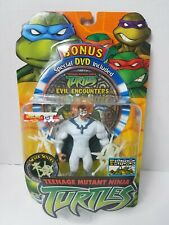 2004 Teenage Mutant Ninja Turtles Silver Sentry w/ Evil Encounters DVD Playmates