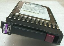 """HP 2,5"""" 146GB 10K SAS Festplatte HP 507119-001 DG0146FAMWL + Tray ##"""