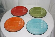 New listing Tommy Bahama Plates ~ Set Of 4 ~ Weekend Vacation Relax ~ New