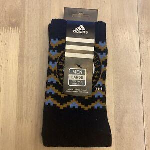NWT Adidas PHILADELPHIA UNION Men's Crew Socks 1 Pair Logo'd Sz L (7-11)