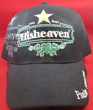Hisheaven / Love (STAR) Hope Psalms 13 6:26 Black BBall Cap SantoCap NEW