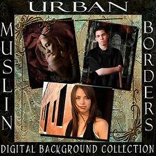 Digital Photography Backgrounds Studio Muslin Backdrops Urban Scenes Borders 1C