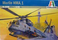 Italeri 1/72 Merlin HMA 1 Royal Navy Helicopter Kit # 1248