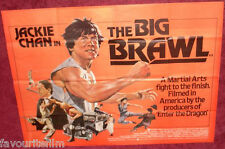 Cinema Poster: BIG BRAWL, THE 1980 (Quad) Jackie Chan José Ferrer