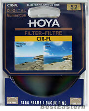 Hoya 52mm Slim CPL Circular Polarizing / Polarizer CIR-PL Filter