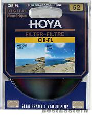 Hoya 52mm Digital Slim Circular Polarizing CPL CIR-PL Filter