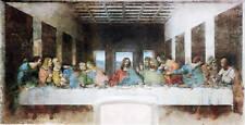 DaVinci Last Supper Canvas Print 15*30 Inch HUGE !