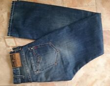 Replay Jeans,Bill Strong,W30,L34,Blue,Standard,Mid Rise,Straight,100%Cotton,Men
