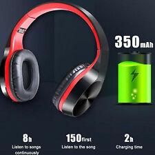 Auriculares Bluetooth Inalámbrico Plegable Auriculares Estéreo Micrófono Auricular Super Bass
