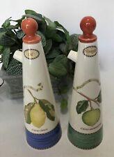 Wedgwood Sarah's Garden Oil & Vinegar Set, Queensware England, MINT
