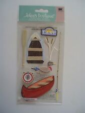 JOLEES BOUTIQUE CAMPING AT THE LAKE SCRAP BOOKING STICKERS