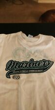 """NEW - Seattle MARINERS """"Salute to Native American Night"""" - XL T-shirt"""