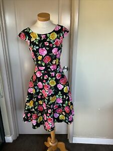Lovely Review Dress Size 10 Good Con